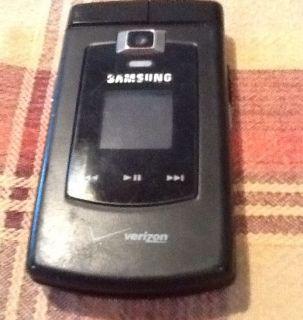 Samsung Verizon QWERTY Keyboard Flip Cell Phone