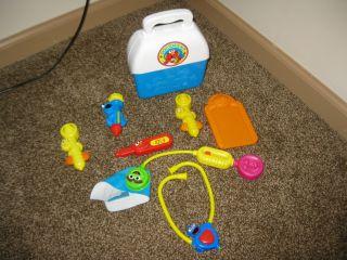 Sesame Street Medical Kit Dr Doctor Nurse Hospital Toy