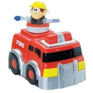 Kid Galaxy Spin n Go Fire Truck New Control Remote Radio Vehicles Kids