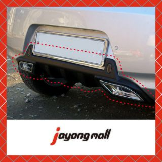 FRP Dual Muffler Kit Fit Kia Picanto All New Morning 2011 2012