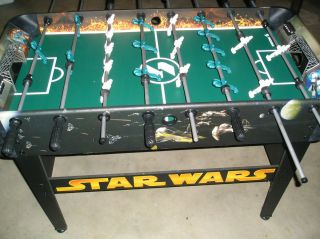 STAR WARS FOOSBALL TABLE ASSEMBLED GAME KIDS DEATH STAR BAR BASEMENT