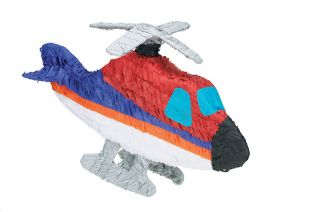 Helicopter Pinata Kids Birthday Party Games Supplies