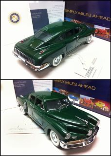 Franklin Mint 1948 Tucker Torpedo Le of 2500 in Box w Papers Very RARE