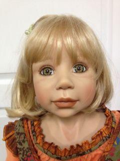 Kimberly 40 Vinyl Girl Doll by Monika Levenig