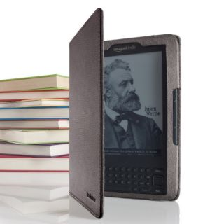 Leather Case for Kindle E Reader 2G or 3G Brown from Brookstone