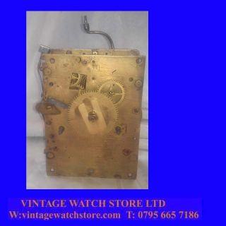 RARE King Charles II 8 Day Long Case Clock Movement 1670