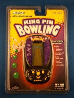 KING PIN BOWLING RADICA ELECTRONIC HANDHELD VIDEO LCD GAME TRAVEL