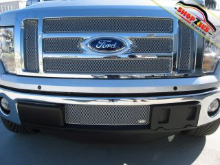Ford F 150 Lariat King Ranch Mesh Grille Grill Insert Lower Silver for