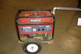 King Craft 6915 2500 Watt Generator Pull Start
