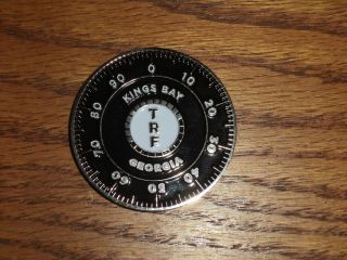 Kingsbay Georgia TRF Locksmith Military Challenge Coin Nice