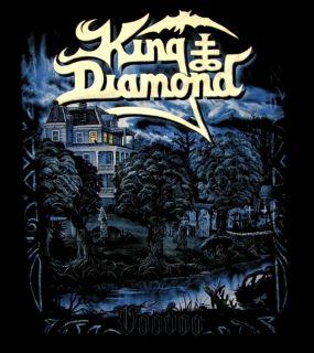 King Diamond CD cvr Voodoo Official Shirt XL New Mercyful Fate
