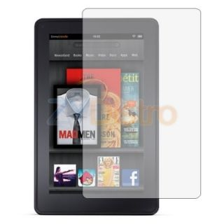 Clear LCD Screen Protector Cover Films for  Kindle Fire Tablet