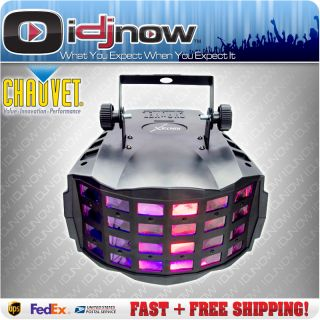 Chauvet Kinta x 3W RGB DMX LED Mushroom Derby DJ Lighting Effect