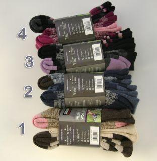 Kirkland Signature Outdoor Hiking Trail Socks 3 Pairs Merino Wool