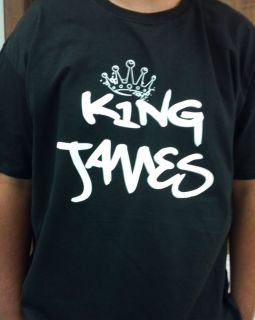 King James Shirt Lebron Miami Heat Wade Big Three 2012 Champion NBA