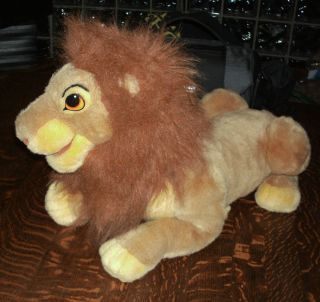 Full Body Simba Lion King Puppet Plush