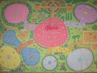 Barbie Mini Kingdom Castle Town City Play Mat Road Map