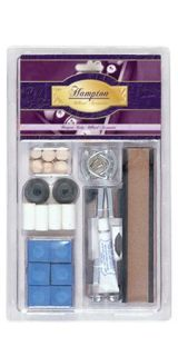 Deluxe Pool Table Billiard Cue Stick Tip Repair Kit