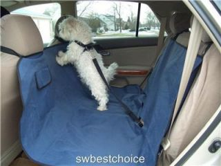 Heavy Duty Dog Cat Travel Hammock Waterproof Car Seat Cover Pad
