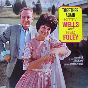 Kitty Wells Red Foley Together Again Decca LP