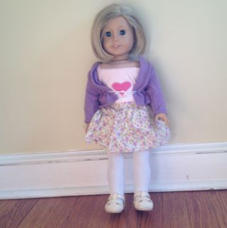 American Girl Ki Kiredge 18 Doll Includes Oufi