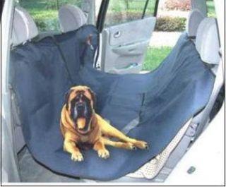 New Hammock Pet Dog Cat Car Seat Cover Navy Blue