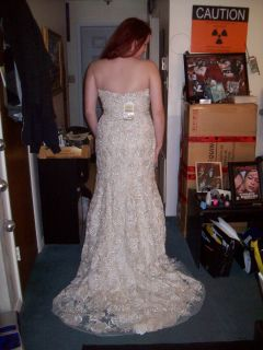 Pink NWT YSA Makino Stephen Yearick wedding dress gown 2612  $3,746