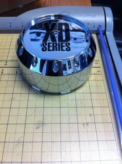 KMC XD Series Chrome Wheel Rim Replacement Center Cap Cover Part