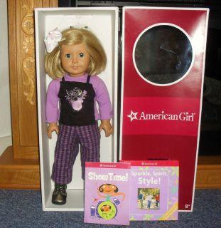 American Girl Doll Kit Kittredge with Box Blonde hair Blue Eyes
