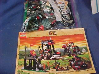 2000 Lego Castle Knights Kingdom Series Set 6096 Bulls Attack