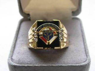 New Mens Knights of Columbus Past Grand Knight Ring