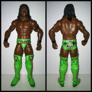 WWE Mattel Elite Kofi Kingston TRU Exclusive Wrestling Action Figure