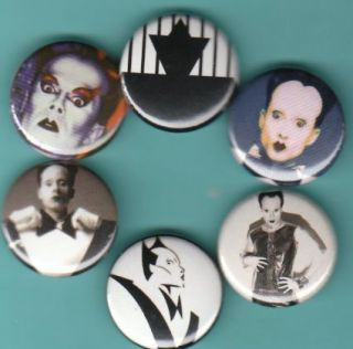 Klaus Nomi Set of 6 Buttons Pins Badges