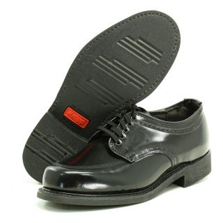 Knapp 2058 Mens Black Leather Shoes 14 Eee