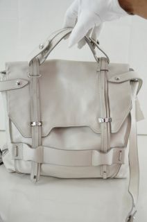Kooba Jane White Chalk Leather Crossbody Bag $448