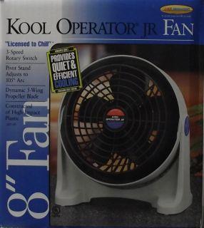 Lakewood 8 Kool Operator Fan 3 Speed Pivot Stand USA