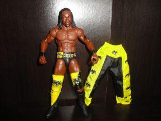 Mattel Elite 9 Kofi Kingston WWE Wrestling Figure Air Boom
