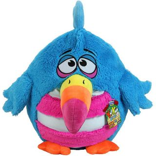 Koo Koo Bird Blue Long Tailed KooKoo Giant Squeeze Bird for Sound