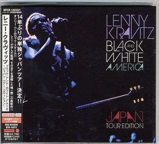 LENNY KRAVITZ BLACK WHITE AMERICA JAPAN TOUR ED JAPAN ONLY 2CDs BONUS