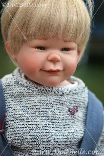 Boy 19 5 VINYL COLLECTIBLE GERMAN doll Artist SUSI EIMER 184 KRISTIAN