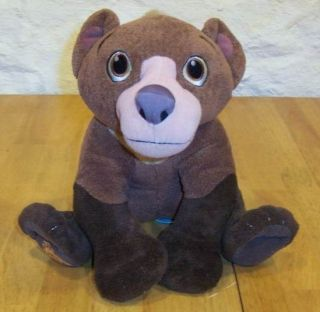 Disney Brother Bear Talking Koda Bear 9 Stuffed Animal