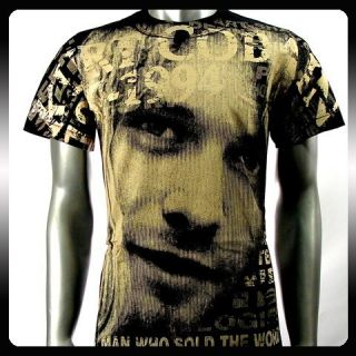 Nirvana Kurt Cobain Rock Punk Music Band T Shirt Sz M