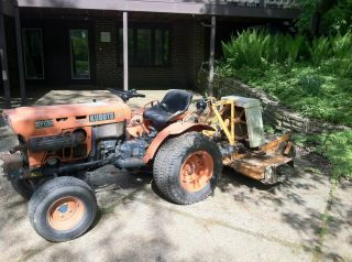 Kubota B7100 Lawn Tractor Mower Diesel
