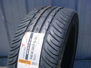 New 245 40 ZR 19 XL Kumho Ecsta SPT KU31 Tire