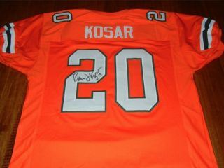 BERNIE KOSAR #20 Signed MIAMI HURRICANES Jersey   National Champion