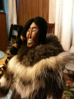 Made by Inupiaq Eskimo Artist Kathleen Ward of Kotzebue Alaska