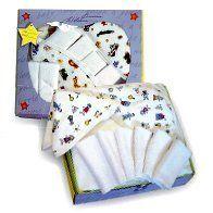 Kushies Baby Towel Washcloth Boxed Gift Set