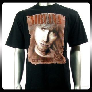 Nirvana Kurt Cobain Rock Punk Alternative T Shirt Sz M NI13