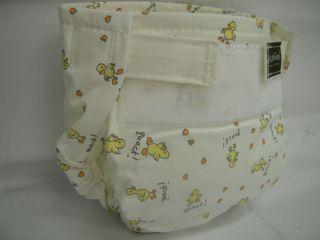 Kushies Reusable Ultra Diaper Single 22 45 Lbs