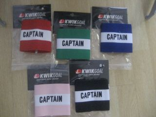 Kwik Goal Kwikgoal Youth Captain Arm Band Soccer Futbol